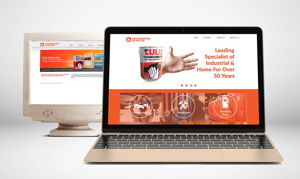 Rebuilding Lulu Mosacpol's digital presence and rebranding of the company